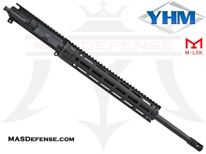 "18"" .223 WYLDE BARRELED UPPER - YANKEE HILL 12.6"" MR7 M-LOK"