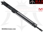 "18"" .223 WYLDE BARRELED UPPER - MAS NERO 15"" M-LOK RAIL  - RIFLE GAS"