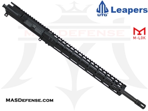 "18"" .223 WYLDE BARRELED UPPER - UTG SUPER SLIM 15"" M-LOK  - RIFLE GAS"