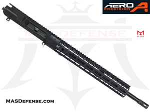 "18"" AR-10 .308 BARRELED UPPER - BALLISTIC ADVANTAGE BARREL - AERO PRECISION UPPER RECEIVER AND 15"" ENHANCED M-LOK RAIL"