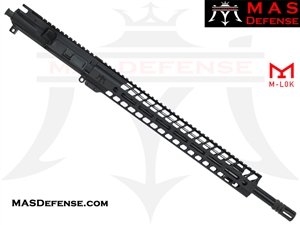 "18"" 5.56 / .223 BARRELED UPPER - MAS NERO 15"" M-LOK RAIL - BALLISTIC ADVANTAGE BARREL"
