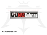 MAS DEFENSE PVC VELCRO BACKED PATCH