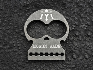 MAS DEFENSE MOLON LABE BOTTLE OPENER - STAINLESS STEEL