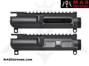 MAS DEFENSE AR15 SLICK SIDE UPPER RECEIVER