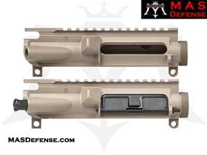 MAS DEFENSE AR15 UPPER RECEIVER - FLAT DARK EARTH FDE