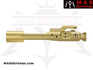 M16 BOLT CARRIER GROUP 5.56 & 300 BLACKOUT - ION TITANIUM NITRIDE (TiN)