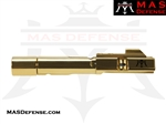 AR-9 9MM BOLT CARRIER GROUP GLOCK AND COLT BCG - RADIANT GOLD (TiN)