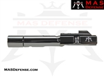 AR-9 9MM BOLT CARRIER GROUP GLOCK AND COLT BCG - RADIANT GRAY (DLC)