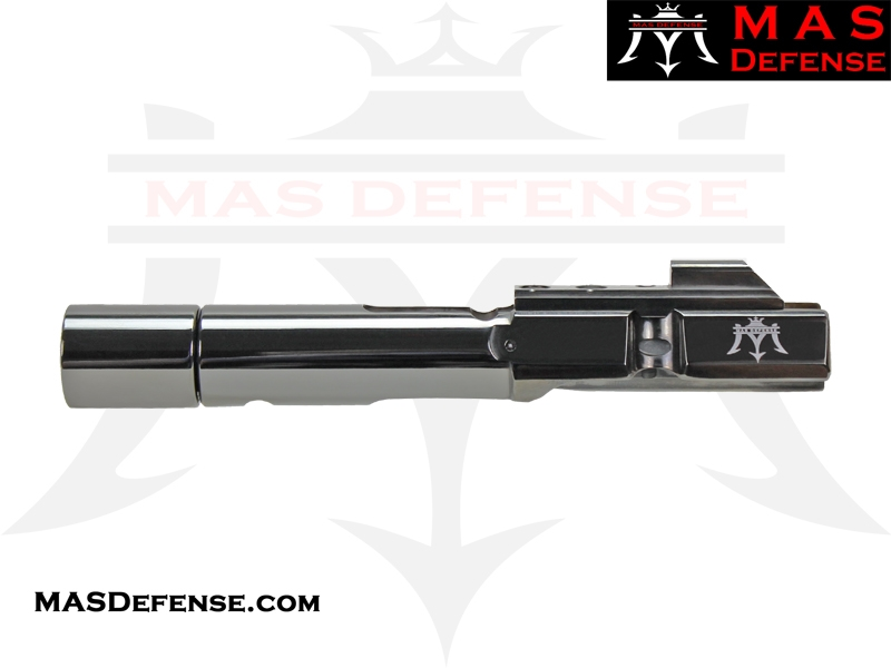 AR-9 9MM BOLT CARRIER GROUP GLOCK AND COLT BCG - RADIANT GRAY (DLC)