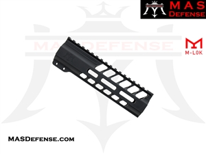 "MAS DEFENSE 7.25"" NERO M-LOK FREE FLOAT"