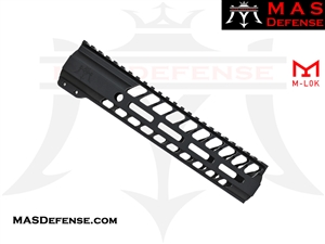 "MAS DEFENSE 9.87"" NERO M-LOK FREE FLOAT"