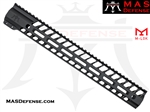"MAS DEFENSE 15"" NERO M-LOK FREE FLOAT"