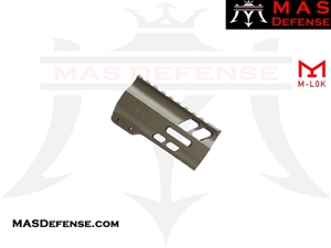 "MAS DEFENSE 4.2"" NERO M-LOK FREE FLOAT - FDE"