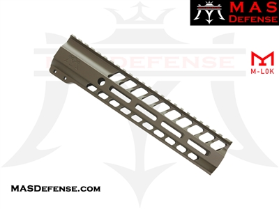 "MAS DEFENSE 9.87"" NERO M-LOK FREE FLOAT - FDE"
