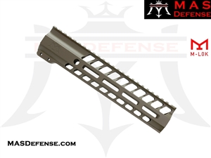 "MAS DEFENSE 9.87"" NERO M-LOK FREE FLOAT - FDE ***BLEM***"