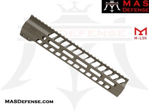 "MAS DEFENSE 12.62"" NERO M-LOK FREE FLOAT - FDE ***BLEM***"