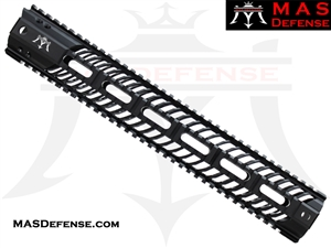 "MAS DEFENSE 15"" SQUADRON LIGHTWEIGHT QUAD RAIL"
