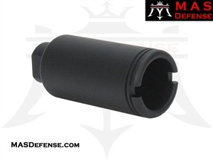 FLASH CAN MUZZLE DEVICE - 1/2x36 TPI