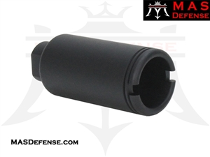 FLASH CAN MUZZLE DEVICE - 5/8x24 TPI ***BLEM***