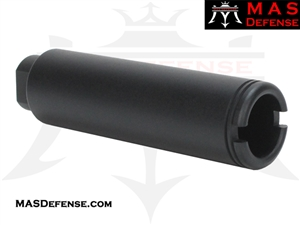 "FLASH CAN ""SLIM LONG"" MUZZLE DEVICE - 5/8x24 TPI"