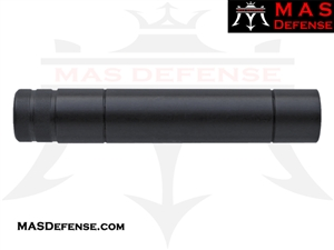 "6.5"" FAKE SUPPRESSOR - EXTERNAL - 1/2x36 TPI"