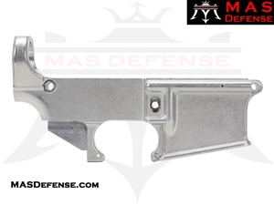 80% FORGED LOWER RECEIVER AR15 - RAW