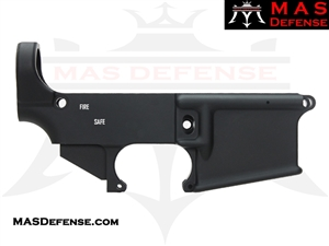 80% FORGED LOWER RECEIVER AR15 - ANODIZED BLACK