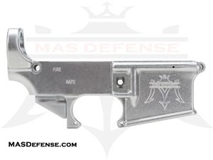 80% FORGED LOWER RECEIVER W/ MAS LOGO - AR15