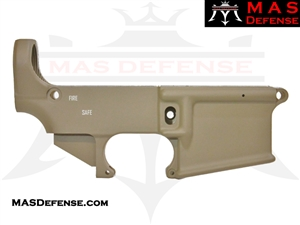 80% FORGED LOWER RECEIVER AR15 - CERAKOTE FDE