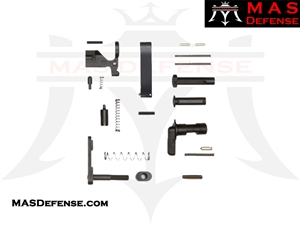 LOWER PARTS KIT AR15 - MINUS FIRE CONTROL GROUP - GRIP - TRIGGER GUARD