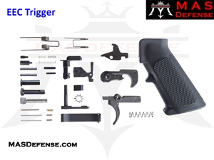 LOWER PARTS KIT AR15 - STAINLESS STEEL