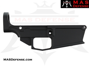 80% FORGED LOWER RECEIVER AR-10 - ANODIZED BLACK