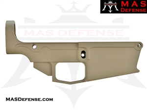 80% FORGED LOWER RECEIVER AR-10 - FDE