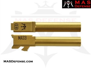 MAS DEFENSE 9MM 416R STAINLESS STEEL GLOCK 19 BARREL - TIN
