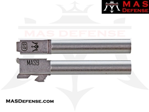 MAS DEFENSE 9MM 416R STAINLESS STEEL GLOCK 17 BARREL - MACHINE CUT