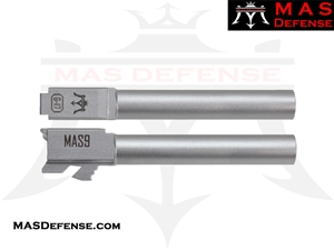 MAS DEFENSE 9MM 416R STAINLESS STEEL GLOCK 17 BARREL - MATTE