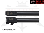 MAS DEFENSE 9MM 416R STAINLESS STEEL GLOCK 23 CONVERSION BARREL - MELONITE NITRIDE