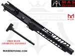 "8.5"" 300 BLACKOUT BARRELED UPPER - MAS NERO 9.87"" M-LOK RAIL ***BLEM***"