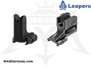 UTG FIXED FRONT & REAR SIGHT SET - MT-950RS03 MT-754X