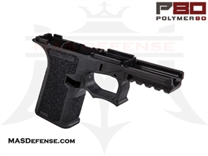 POLYMER80 GLOCK 19 80% POLYMER LOWER RECEIVER BLACK - PF940Cv1-BLK
