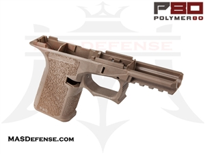 POLYMER80 GLOCK 19 80% POLYMER LOWER RECEIVER FLAT DARK EARTH - PF940Cv1-FDE
