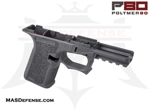 POLYMER80 GLOCK 19 80% POLYMER LOWER RECEIVER GRAY - PF940Cv1-GRY