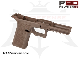POLYMER80 GLOCK 17/22 80% POLYMER LOWER RECEIVER FLAT DARK EARTH - PF940v2-FDE