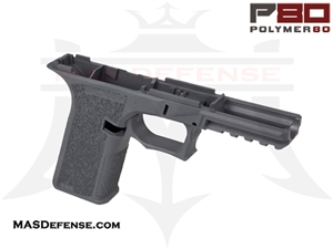 POLYMER80 GLOCK 17 80% POLYMER LOWER RECEIVER GRAY - PF940v2-GRY