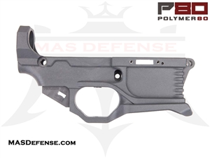 POLYMER80 AR15 RHINO RL556V3 80% POLYMER LOWER RECEIVER KIT GRAY - P80-RL556v3-GRY
