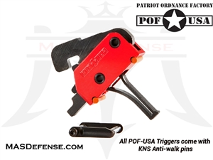 POF FLAT AR15 / AR-10 DROP-IN TRIGGER SINGLE STAGE 3.5 - POF-00858