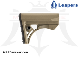 UTG PRO OPS READY S3 COMPACT STOCK - MILSPEC - FDE - RBUS3DMS