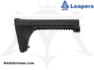 UTG PRO AR15 OPS READY S5 FIXED STOCK - BLACK - RBUS5BMS