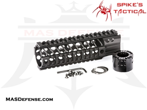"SPIKES TACTICAL LW BAR2 7"" QUAD RAIL - SAR2107"
