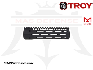 "TROY INDUSTRIES 7.6"" SOCC-PDW BATTLE RAIL - BLACK - SRAI-SRP-70BT-00"